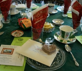 Holiday Tea Soap Favors