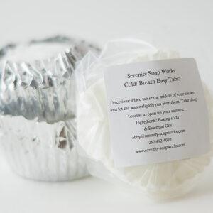 Serenity Soapworks Breathe Ease Tabs