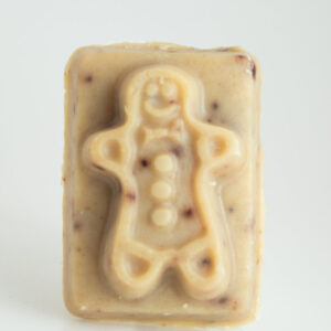 Serenity Soapworks Gingerbread Man Goat Milk SOap Holiday