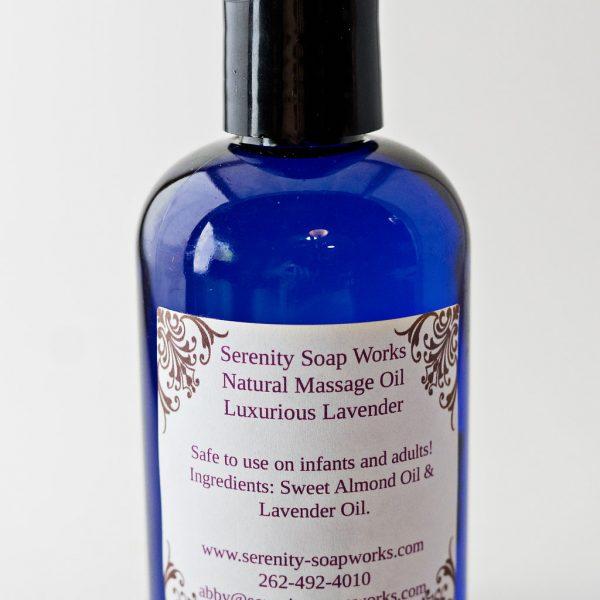 Serenity Soapworks Massage Oil