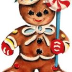Serenity Soapworks Gingerbread man scent