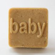 Serenity Soapworks Square baby shower goat milk soap