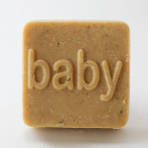 Serenity Soapworks Square baby shower goat milk soap