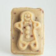 Serenity Soapworks Gingerbread Man Goat Milk SOap Holiday