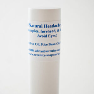 Serenity Soapworks Headache Stick All Natural Skin Care