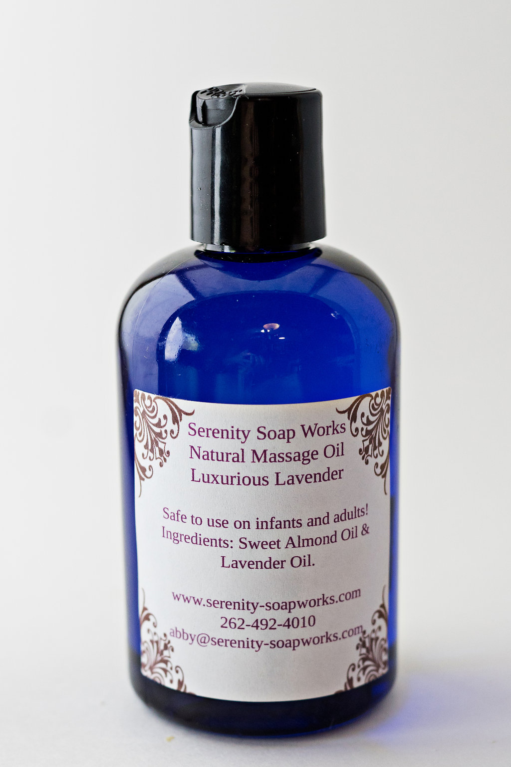 Serenity Soapworks Massage Oil